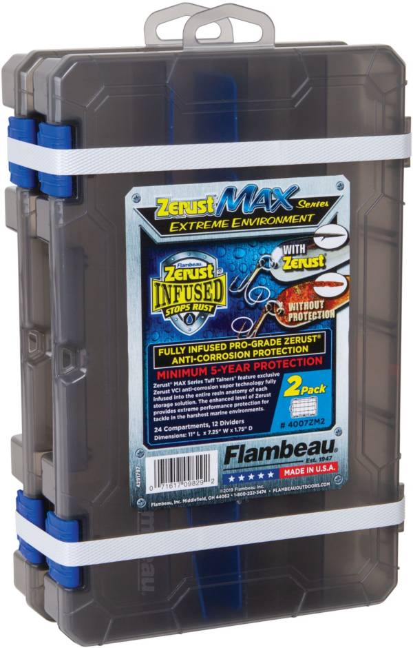 Flambeau Zerust Max Tuff Tainer 4007 Utility Box 2-Pack product image