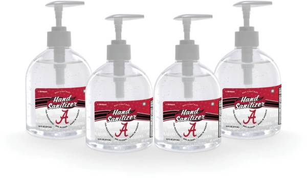 Fanmats Alabama Crimson Tide 16 oz. Pump Top Hand Sanitizer – 4 Pack product image