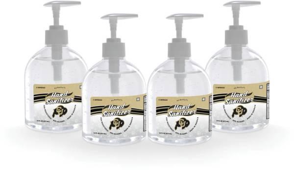 Fanmats Colorado Buffaloes 16 oz. Pump Top Hand Sanitizer – 4 Pack product image