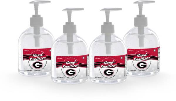 Fanmats Georgia Bulldogs 16 oz. Pump Top Hand Sanitizer – 4 Pack product image
