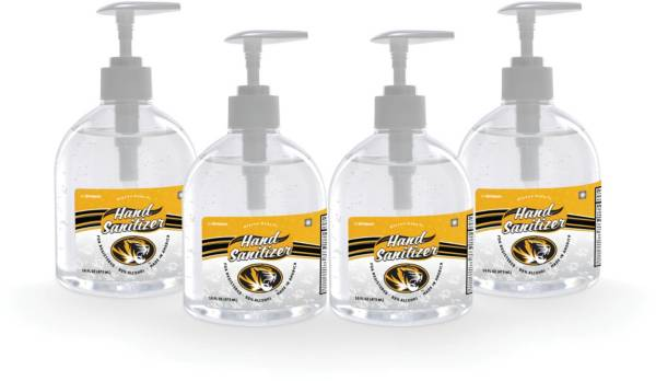 Fanmats Missouri Tigers 16 oz. Pump Top Hand Sanitizer – 4 Pack product image