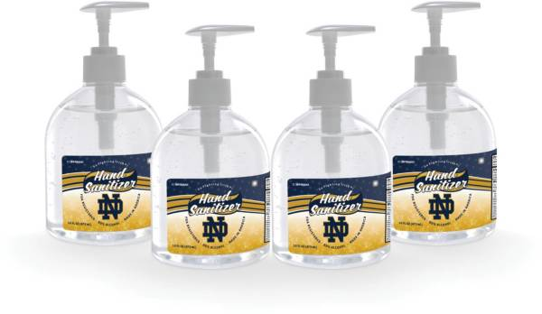 Fanmats Notre Dame Fighting Irish 16 oz. Pump Top Hand Sanitizer – 4 Pack product image