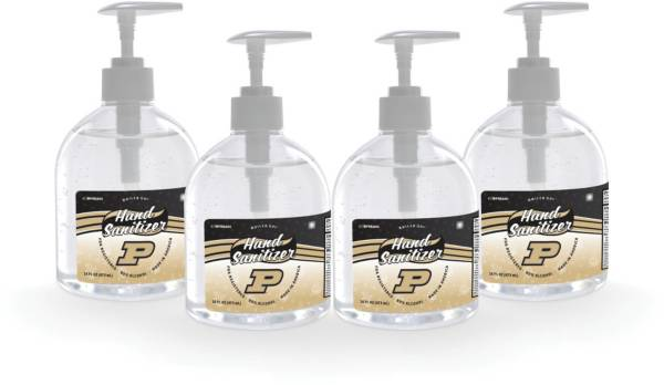 Fanmats Purdue Boilermakers 16 oz. Pump Top Hand Sanitizer – 4 Pack product image
