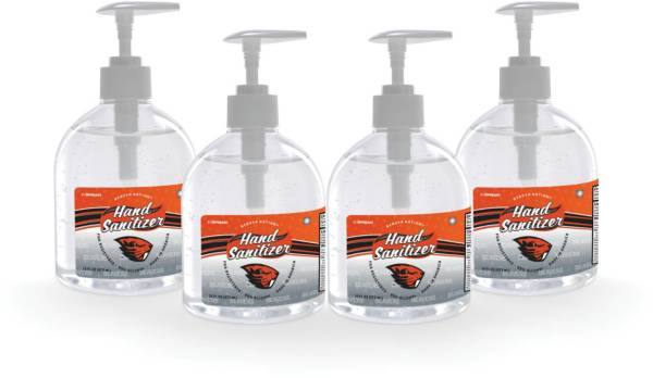Fanmats Oregon State Beavers 16 oz. Pump Top Hand Sanitizer – 4 Pack product image