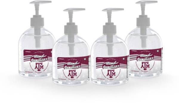 Fanmats Texas A&M Aggies 16 oz. Pump Top Hand Sanitizer – 4 Pack product image