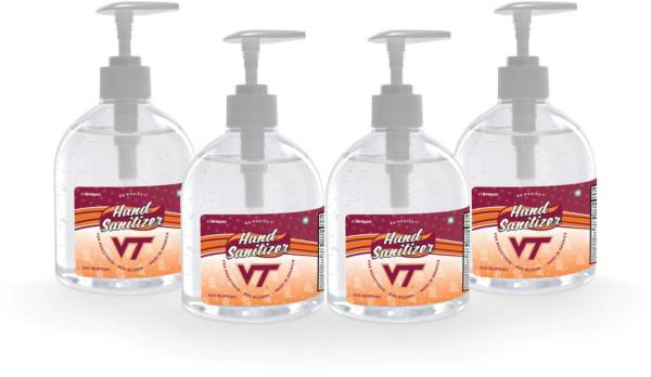 Fanmats Virginia Tech Hokies 16 oz. Pump Top Hand Sanitizer – 4 Pack product image