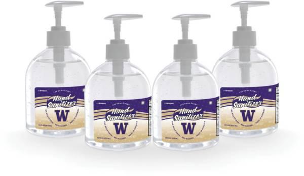 Fanmats Washington Huskies 16 oz. Pump Top Hand Sanitizer – 4 Pack product image