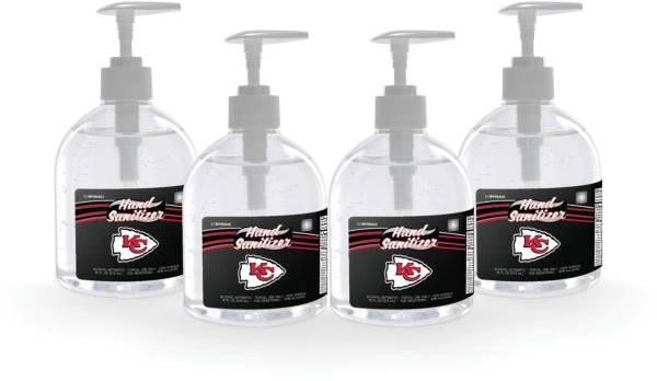Fanmats Kansas City Chiefs 16 oz. Pump Top Hand Sanitizer – 4 Pack product image