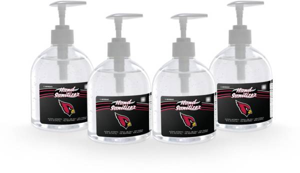 Fanmats Arizona Cardinals 16 oz. Pump Top Hand Sanitizer – 4 Pack product image