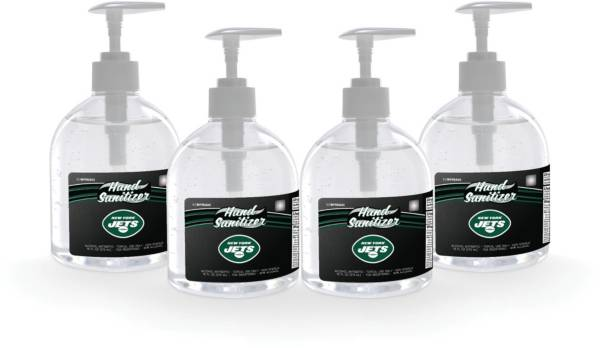 Fanmats New York Jets 16 oz. Pump Top Hand Sanitizer – 4 Pack product image