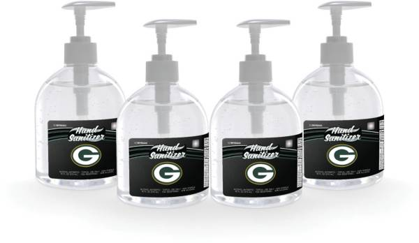 Fanmats Green Bay Packers 16 oz. Pump Top Hand Sanitizer – 4 Pack product image