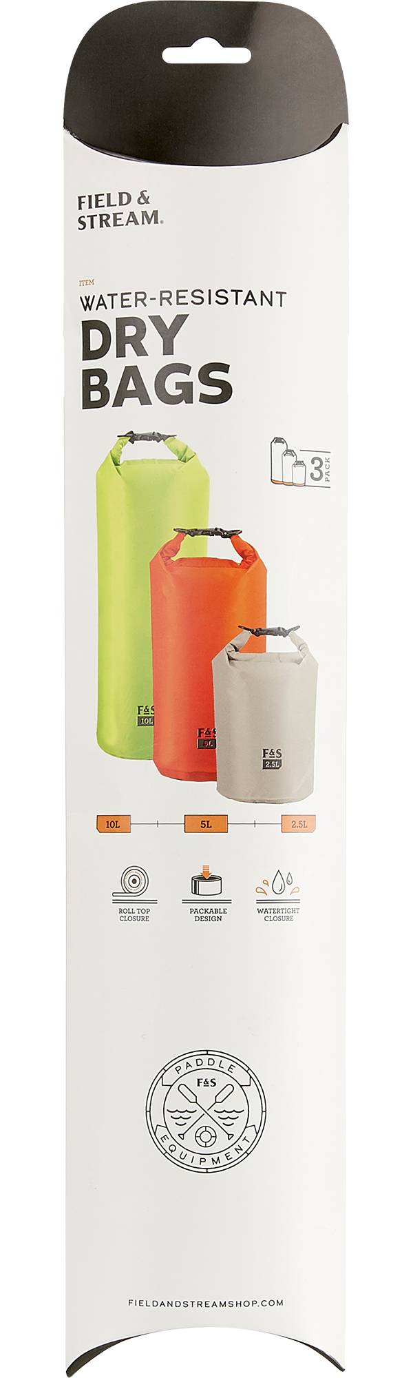 Field & Stream 3-Pack Dry Bags product image