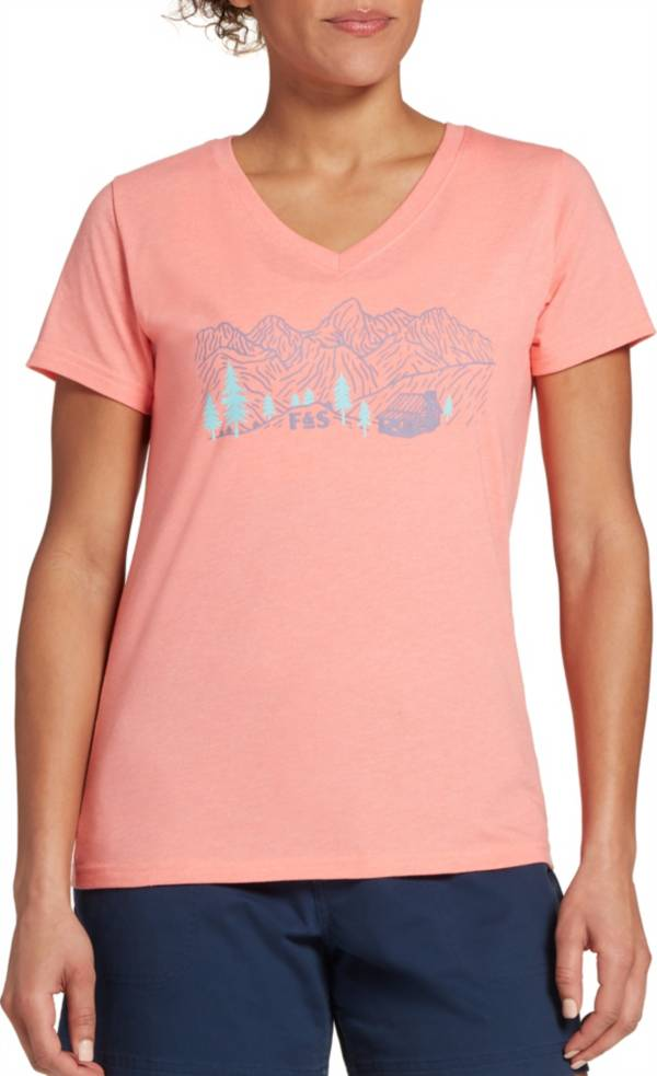 Field & Stream Women's Graphic V-Neck T-Shirt product image