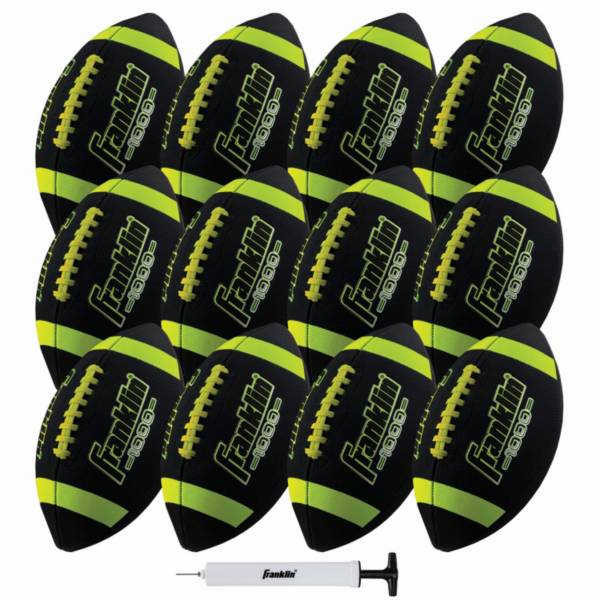Franklin Grip Rite 100 Junior Football 12 Pack product image