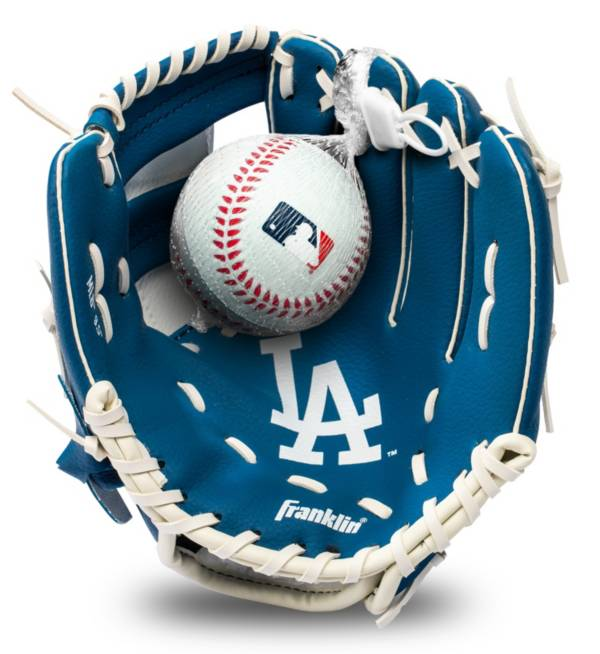 Franklin Youth Los Angeles Dodgers Teeball Glove and Ball Set product image
