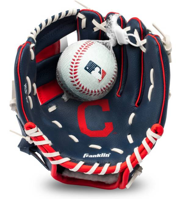 Franklin Youth Cleveland Indians Teeball Glove and Ball Set product image