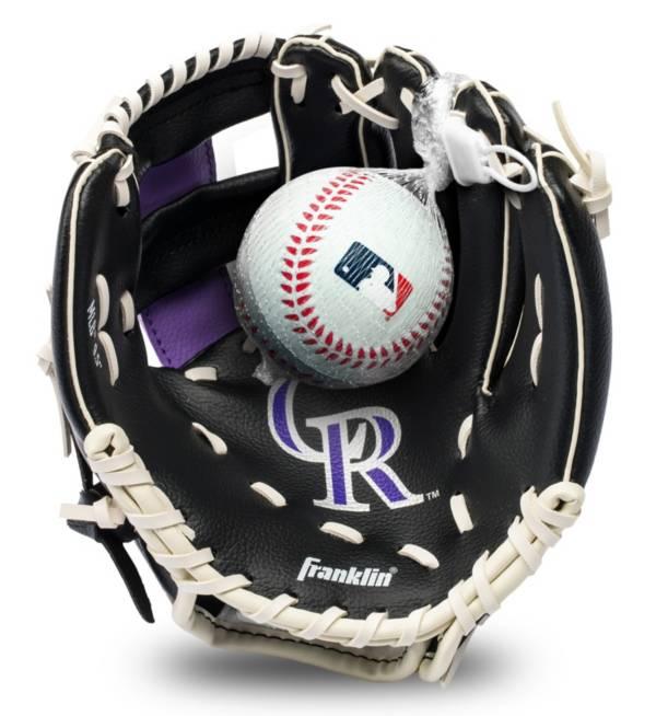 Franklin Youth Colorado Rockies Teeball Glove and Ball Set product image