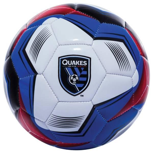 Franklin San Jose Earthquakes Size 1 Soccer Ball product image