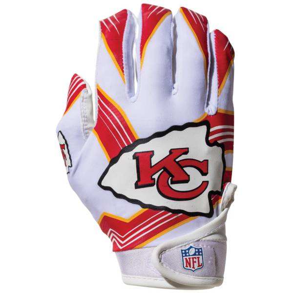 Franklin Youth Kansas City Chiefs Receiver Gloves product image