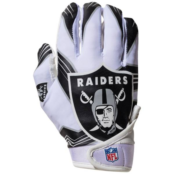 Franklin Youth Oakland Raiders Receiver Gloves product image