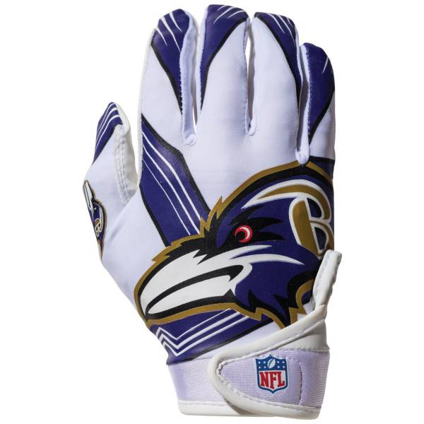 Franklin Youth Baltimore Ravens Receiver Gloves product image