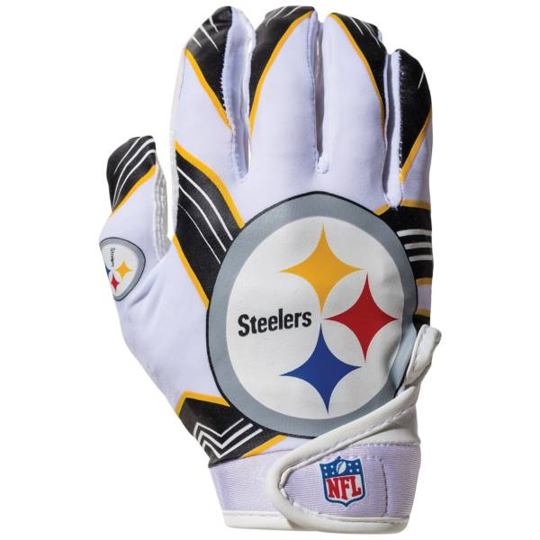 Franklin Youth Pittsburgh Steelers Receiver Gloves product image