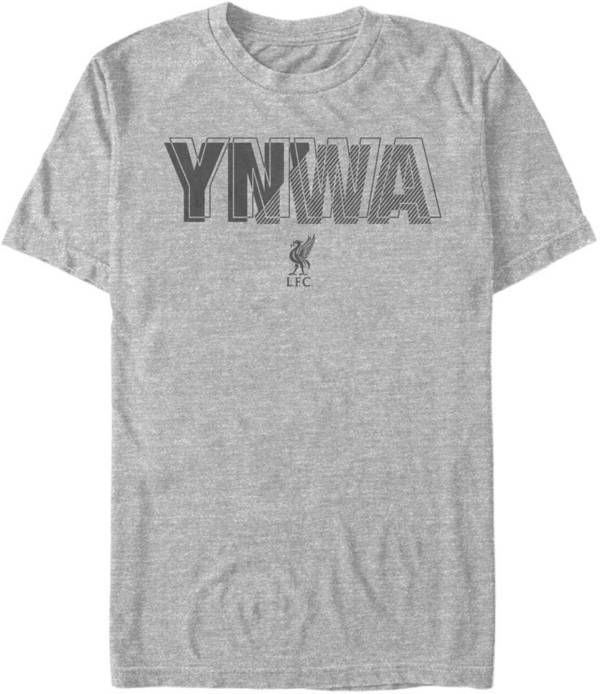 Fifth Sun Men's Liverpool FC Grey YNWA T-Shirt product image
