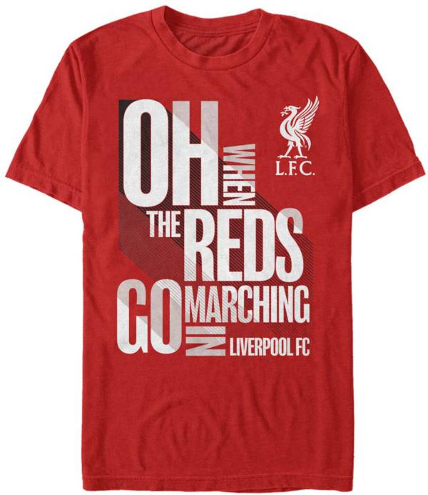 Fifth Sun Men's Liverpool FC Red Marching T-Shirt product image
