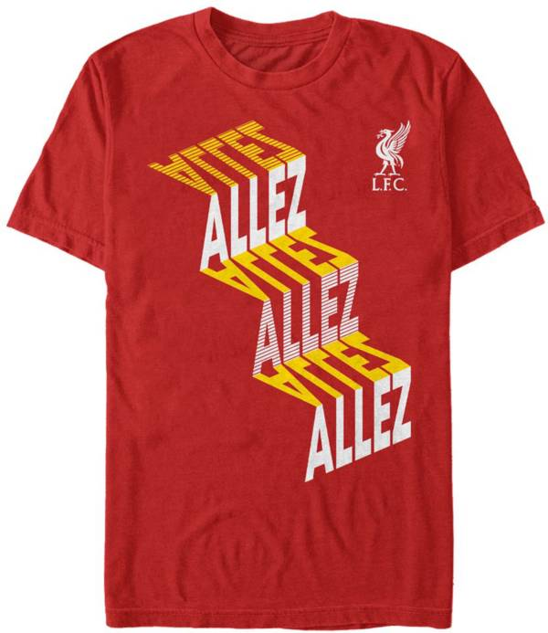 Fifth Sun Men's Liverpool FC Red Slinky Allez T-Shirt product image
