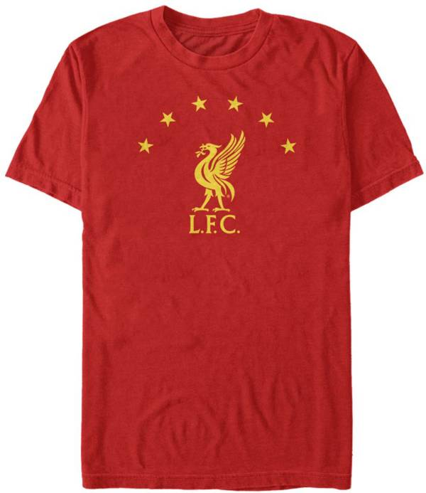 Fifth Sun Men's Liverpool FC Red Star Years Logo T-Shirt product image