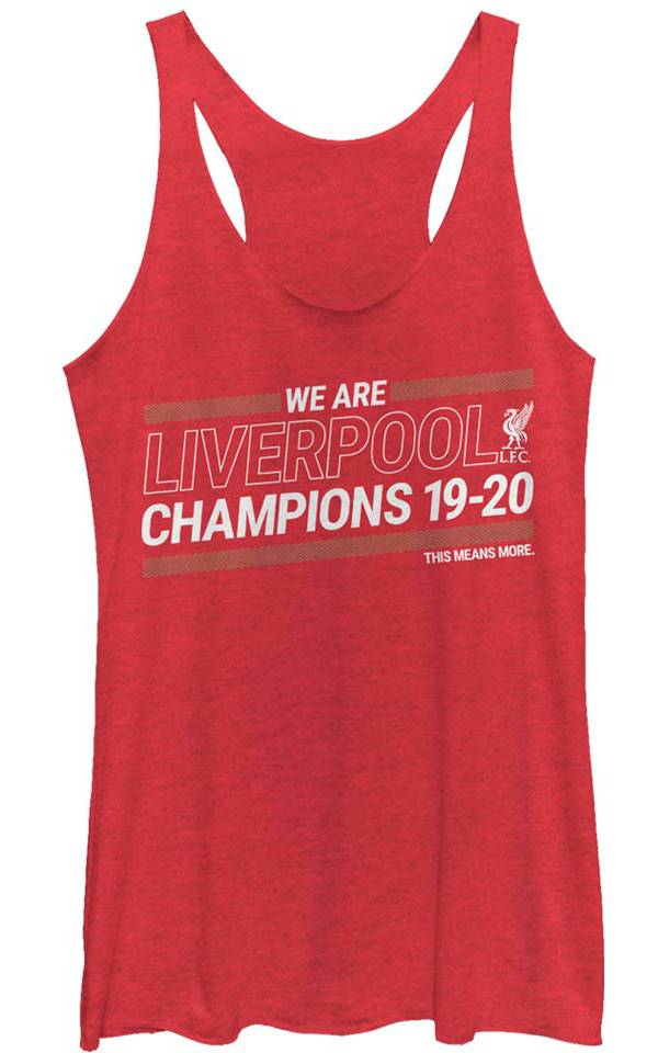 Fifth Sun Juniors' 2019-2020 League Champions Liverpool FC Red Tank Top product image