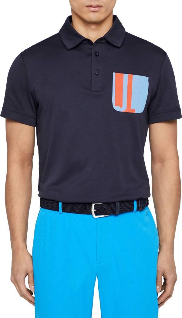 J.Lindeberg Men's Nils Club Pique Slim Fit Golf Polo product image