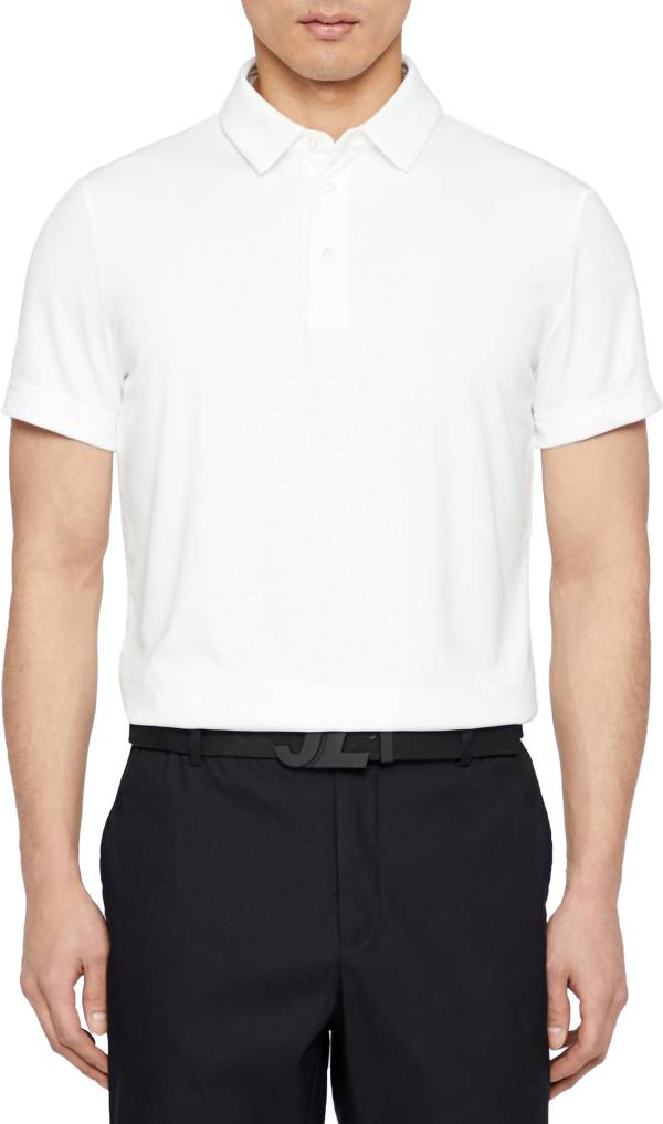 J.Lindeberg Men's Pine TX Jersey Slim Fit Golf Polo product image