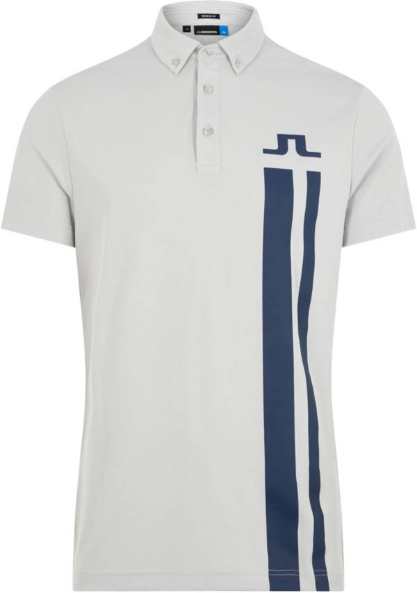 J.Lindeberg Men's Zeke Lux Pique Golf Polo product image