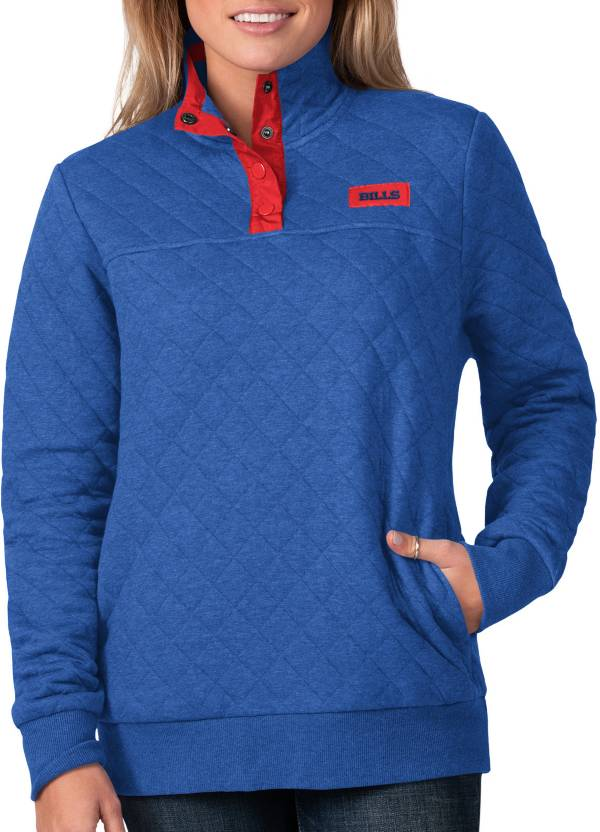 G-III For Her Women's Buffalo Bills Quillted Royal Pullover product image