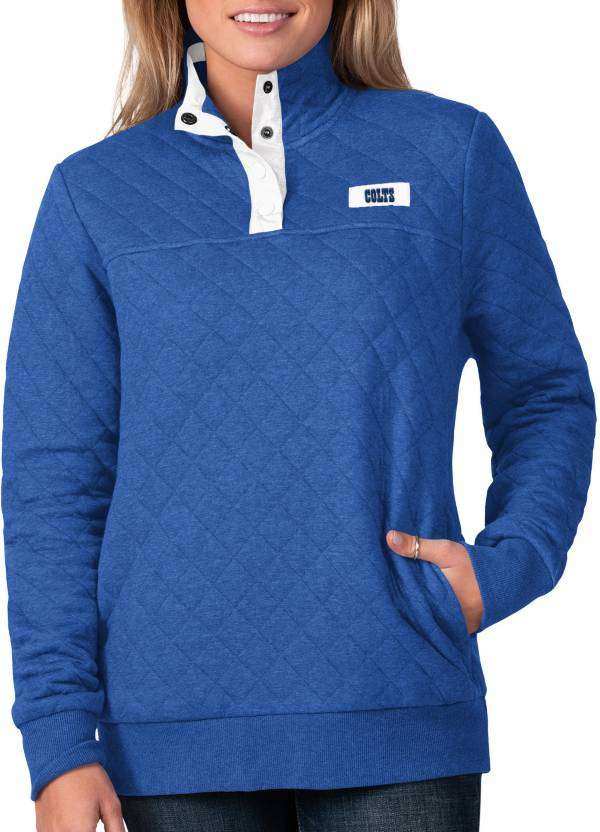 G-III For Her Women's Indianapolis Colts Quillted Royal Pullover product image
