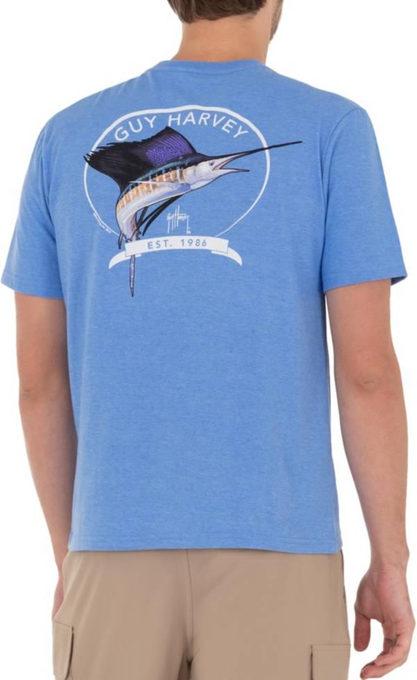 Guy Harvey Men's Core Sailfish Pocket T-Shirt product image