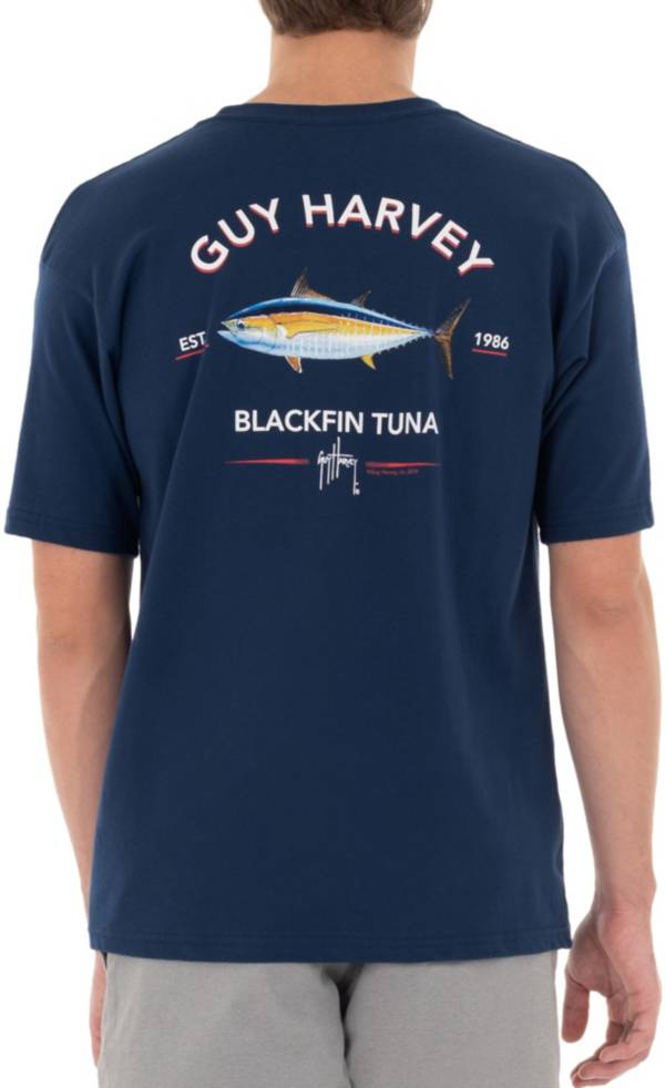 Guy Harvey Men's Offshore Haul Black Fin Tuna T-Shirt product image