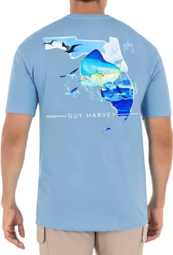 Guy Harvey Men's Florida Mahi Pocket T-Shirt product image