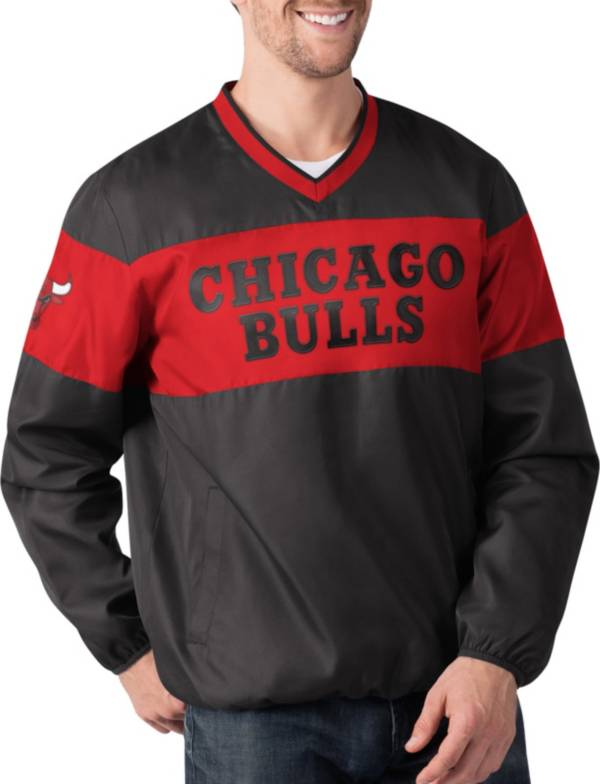 G-III Men's Chicago Bulls Slam Dunk Red Pullover Jacket product image
