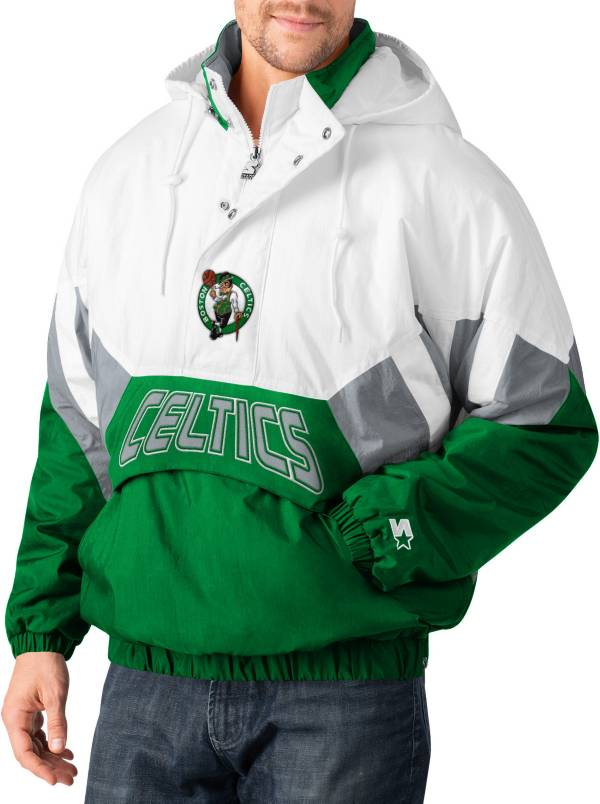 Starter Men's Boston Celtics Line Up Hooded Pullover Jacket product image
