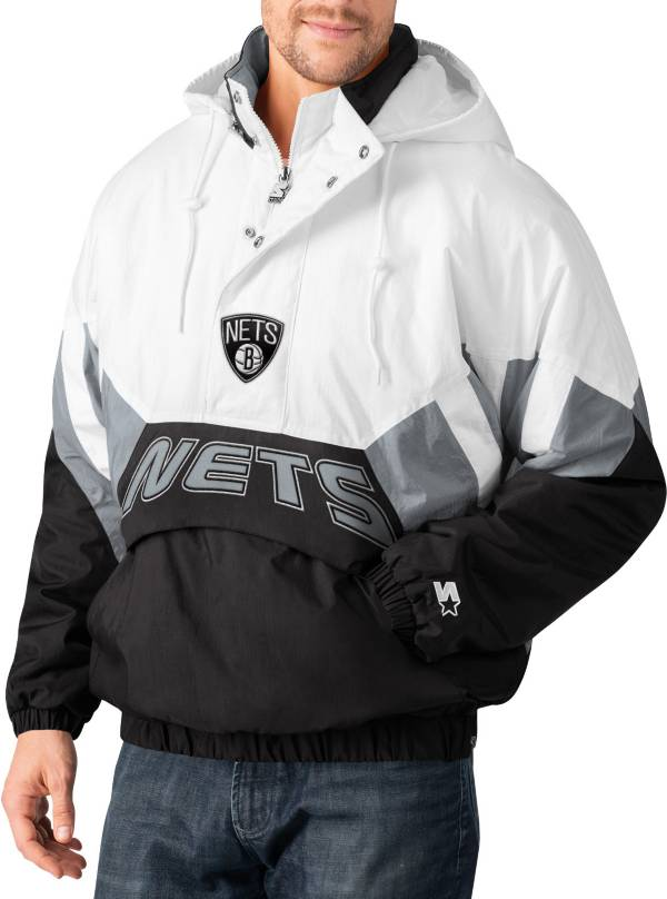 Starter Men's Brooklyn Nets Line Up Hooded Pullover Jacket product image