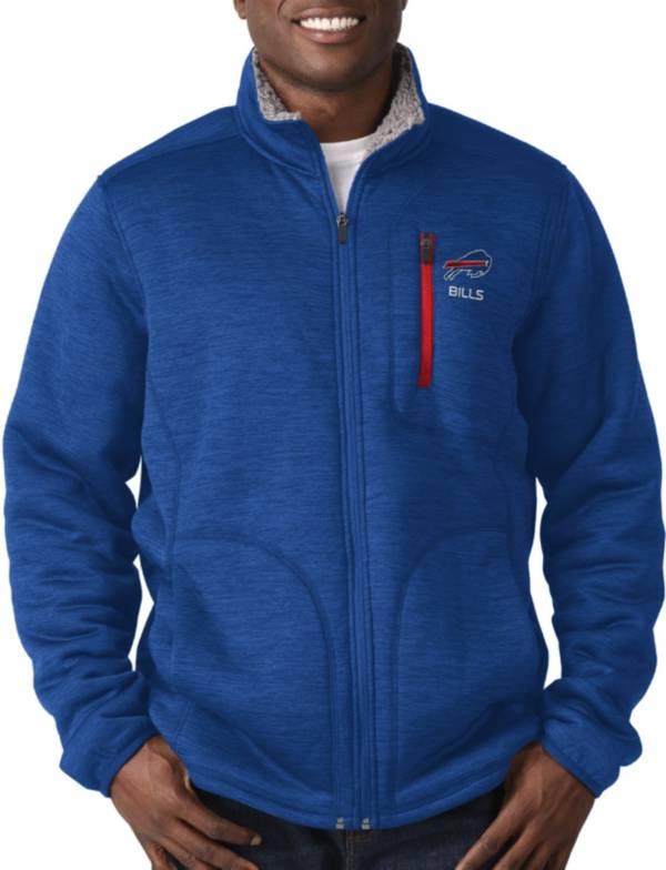 G-III Men's Buffalo Bills Fast Track Royal Full-Zip Jacket product image