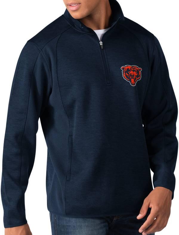 G-III Men's Chicago Bears Peacemaker Navy Quarter-Zip Pullover product image