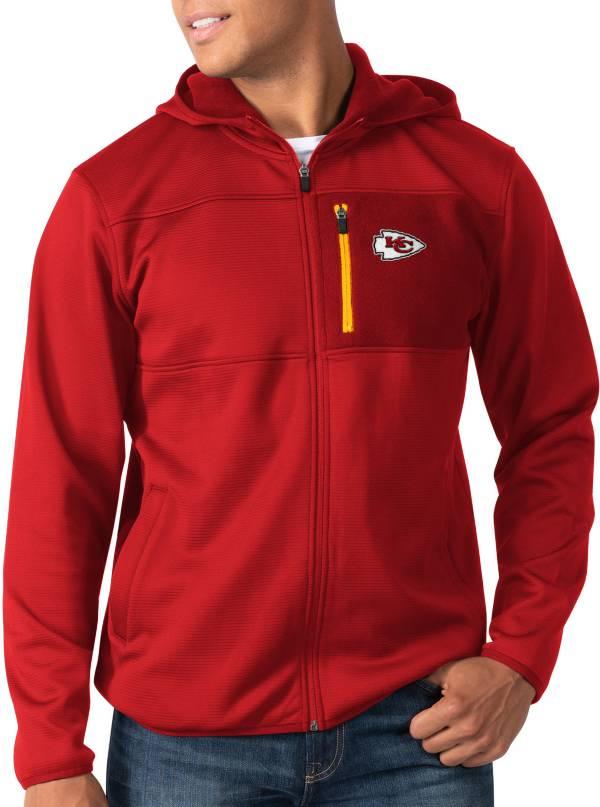 G-III Men's Kansas City Chiefs Sprint Red Full-Zip Jacket product image