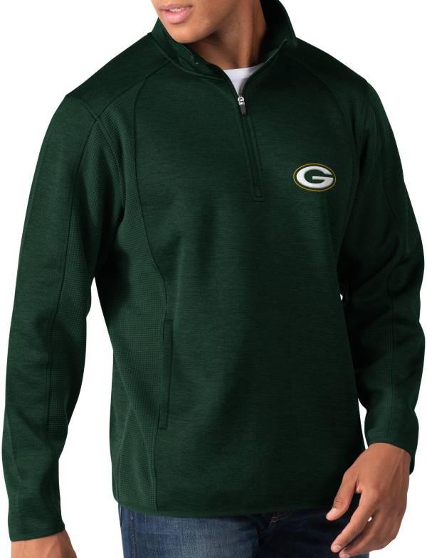 G-III Men's Green Bay Packers Peacemaker Green Quarter-Zip Pullover product image