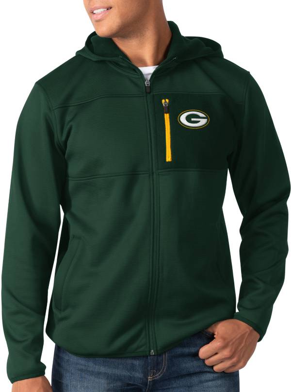 G-III Men's Green Bay Packers Sprint Green Full-Zip Jacket product image