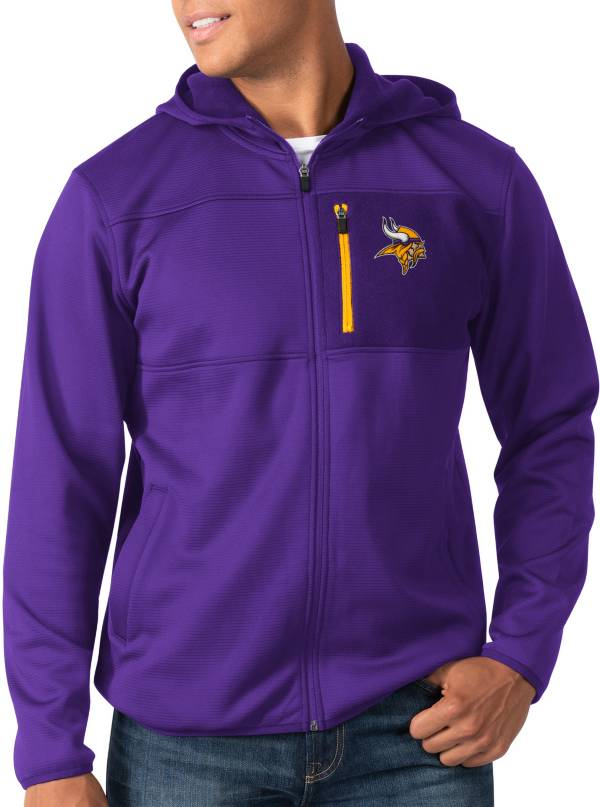 G-III Men's Minnesota Vikings Sprint Purple Full-Zip Jacket product image