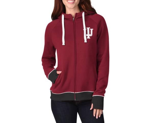G-III Women's Indiana Hoosiers Full-Zip Hoodie product image