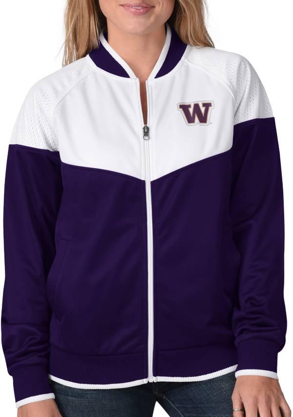 G-III For Her Women's Washington Huskies Purple Wildcard Track Jacket product image